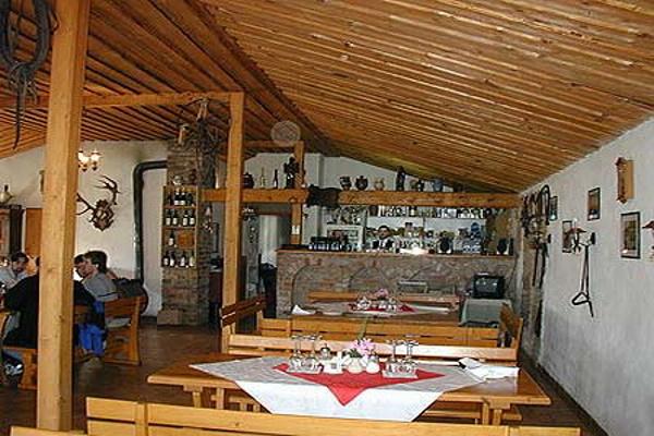 Agroturistika - venkovská turistika - Koňská farma v Lednici na Pálavě - restaurace